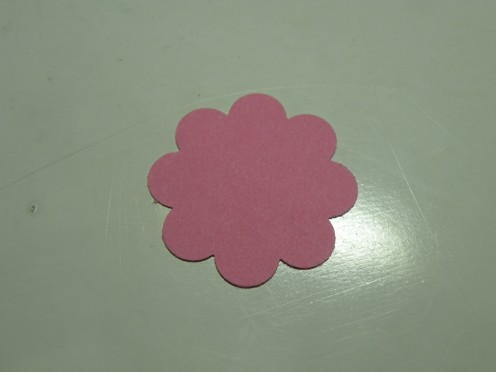 Stampin'Up! Punch Middle Layer Flower