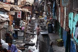 Slums...