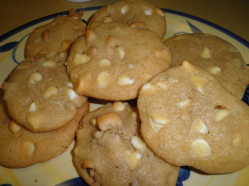 White Walnut Chocolate Chip Cookies - no beat, easy to make recipe