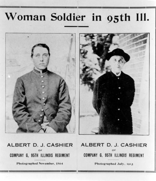 Newspaper Article Of Albert Cashier