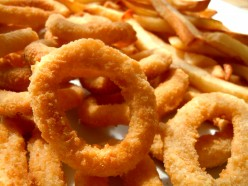 Is french fries or onion rings a bad craving comfort food? What are your options to a healthier CF?
