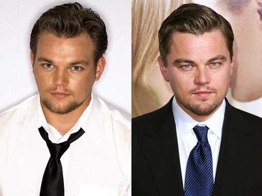 Frank Roberts and Leonardo DiCaprio