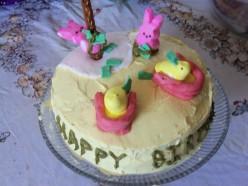 The Peep Show Cake
