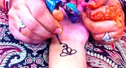 How to Care for your Henna Tattoo and Make it Last