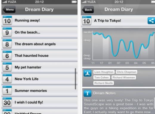 iOS app Dream;ON thenextweb.com