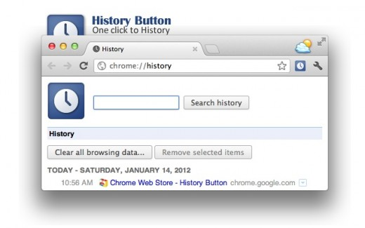 Google Chrome History