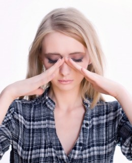 Sinus problems can cause headaches