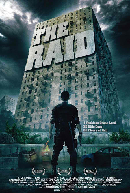 The Raid promotional poster