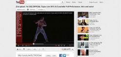 Tupac Shakur Coachella Hologram reaches viral status in a single day