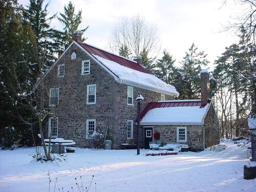 A gorgeous stone farmhouse, circa 1745