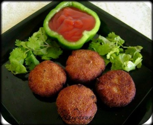 Meat cutlet