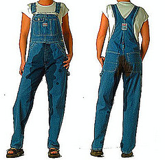WETTING MY OVERALLS.