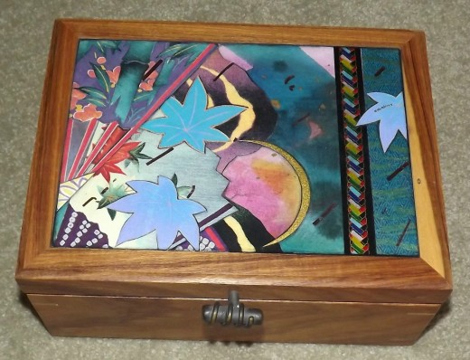 Collectible Decorative Wooden Box Design by Joyce McAdams