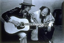 Portrait with Bob Dylan, taken in 1975