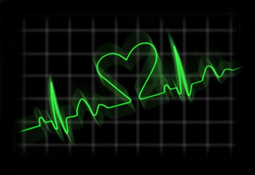 A clinical death occurs when the heart stops beating.
