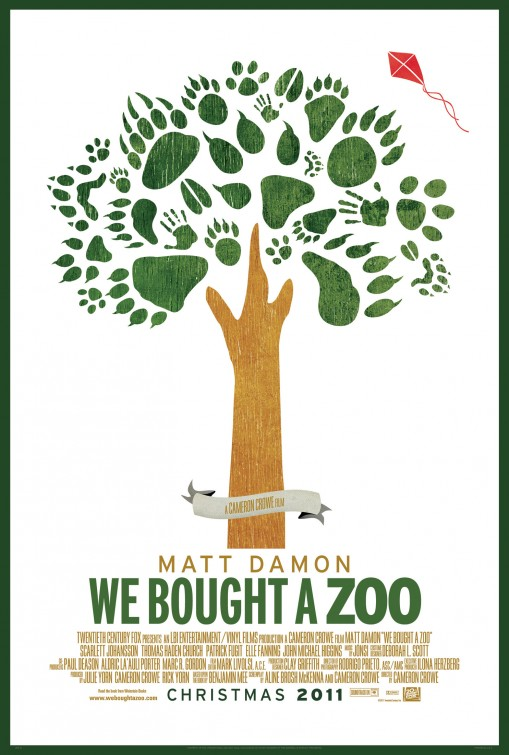 We Bought a Zoo Poster #2