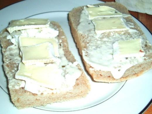 mayo, mustard, brie