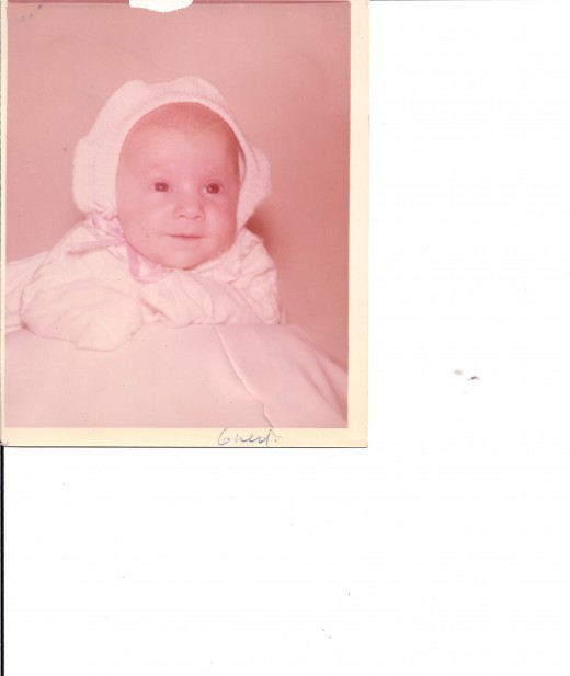 Me at six months lol