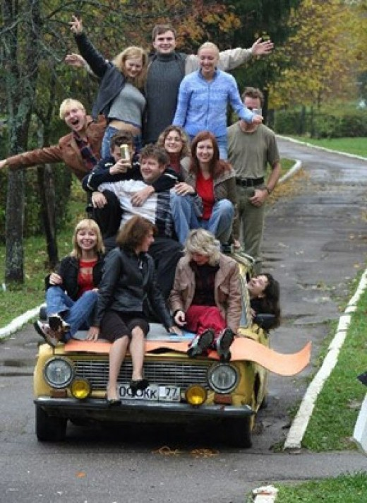 Not the ideal way of carpooling!!