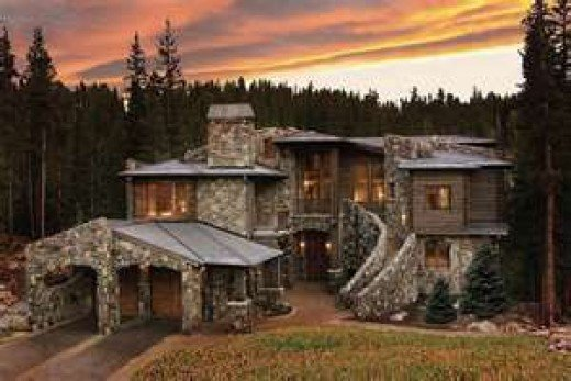 Michael's home in the mountains