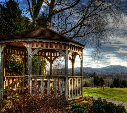 A Beautiful Older Gazebo