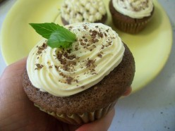 Gluten Free Cupcake Recipe - Mint Chocolate Cupcakes