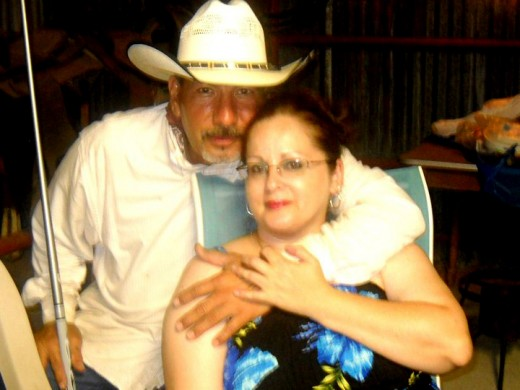 Geegee77 and her cowboy Chico