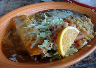 Mexico Restaurant's Chicken Enchilada