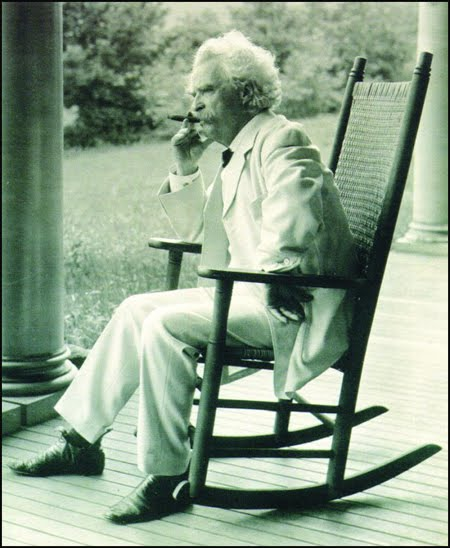Mark Twain born as Samuel Langhorne Clemens