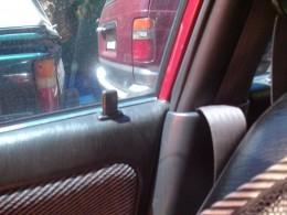 door lock actuates. car alarm functions again
