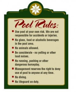 Pool Rules: Keeping the Kids Safe