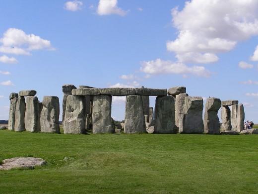 Stonehenge as it looks today.