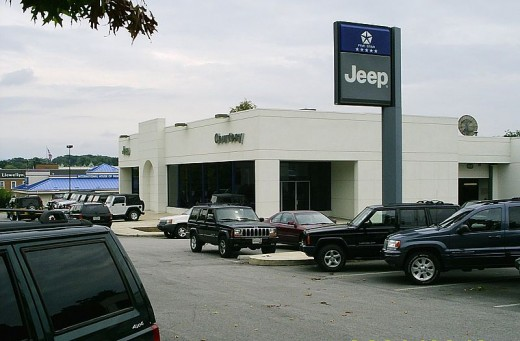 New and used car dealership