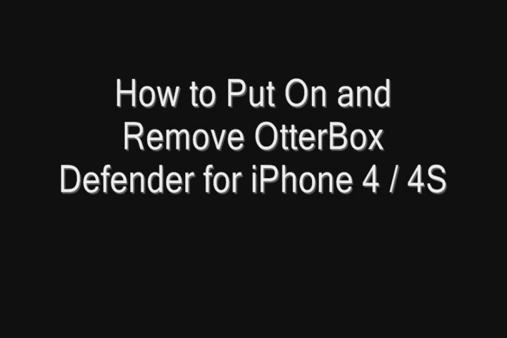 Removing Otterbox From Iphone