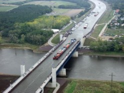 Where in the World are You?...Magdeburg Water Bridge; Magdeburg, Germany