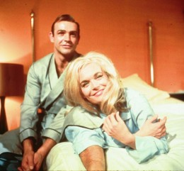 Sean Connery and Shirley Easton