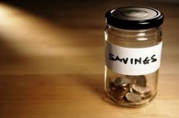 Saving money now, not later.