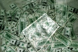 It won't take this pile of money, but cataract surgery isn't inexpensive.