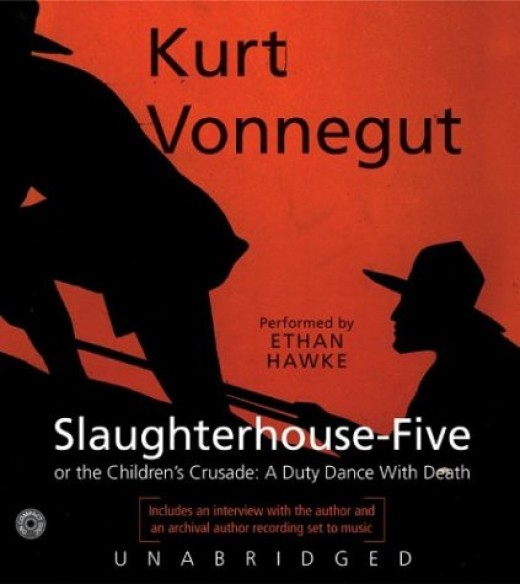 antiwar theme in slaughterhouse five essay Full glossary for slaughterhouse-five essay questions  when a kitchen worker in the slaughterhouse sees his blue toga,  in slaughterhouse-five,.