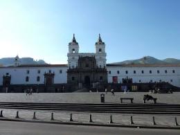 Quito San Francisco church
