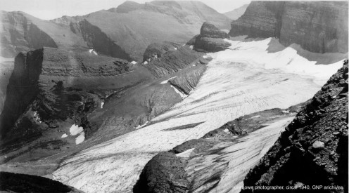 Grinnell Glacier Overlook, 1940