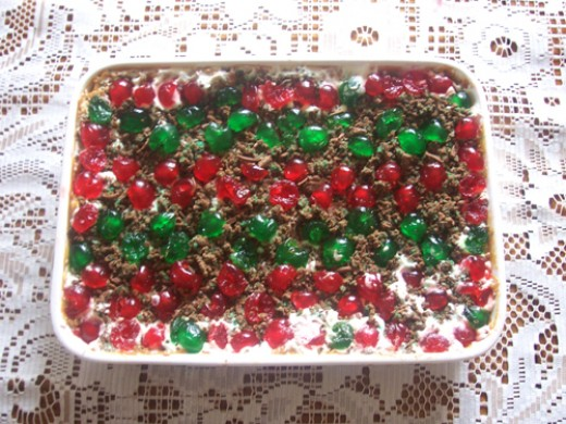 peppermint crisp fridge tart