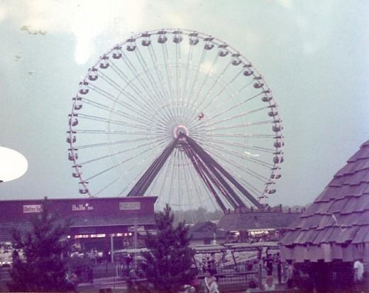 Ferris Wheel at Darien Lake