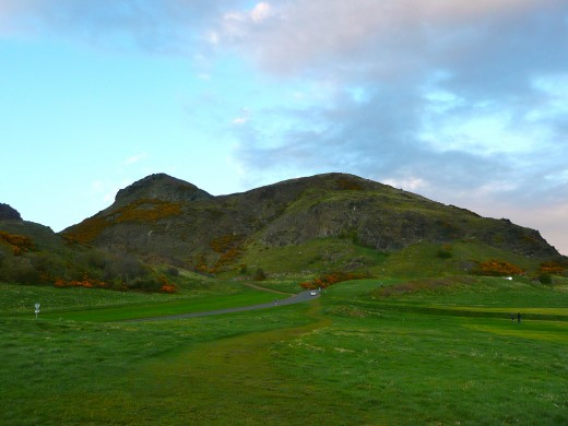 Arthur's Seat, Edinburgh's (extinct) volcano