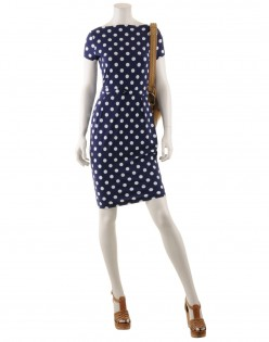Great polka dot dress