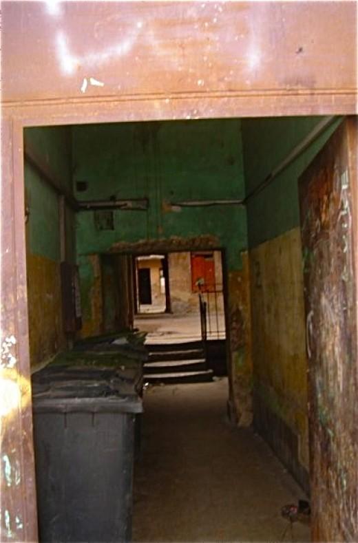 Main entrance to a courtyard