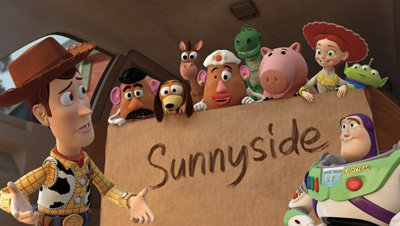Image from Toy story 3 which was released in 2010.