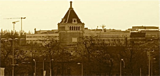 Old city slaughterhouse