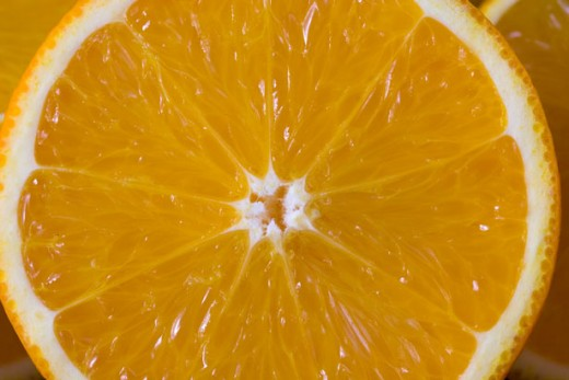 Oranges are even shown to help control blood pressure levels.