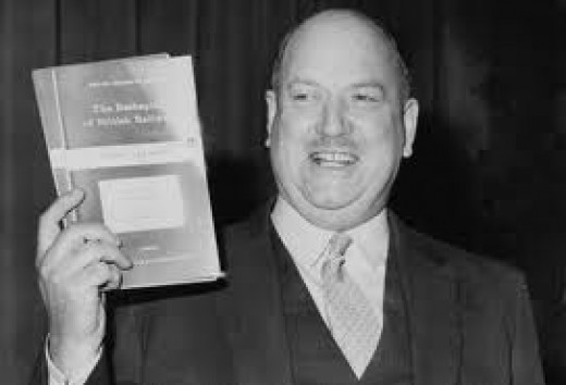 Just make sure he doesn't get near your model railway - he'd probably find a way of closing it down! (Dr Richard Beeching with his report THE RE-SHAPING OF BRITAIN'S RAILWAYS)